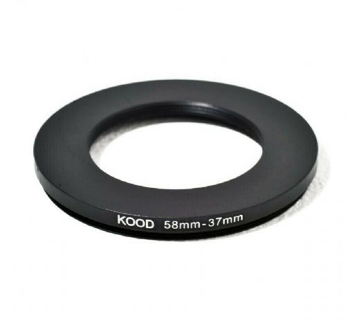 Stepping Ring 58-37mm 58mm to 37mm Step Down Ring Stepping Rings 58mm-37mm